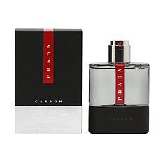 Prada Luna Rossa Carbon For Men Eau De Toilette Spray - 3.4 oz.