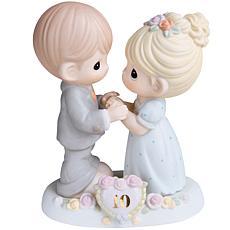 Precious Moments 10th Anniversary Bisque Porcelain Figurine