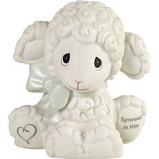 Precious Moments 193001 Renewed In Him Bisque Porcelain Figurine