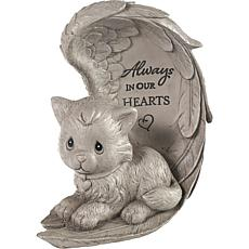 Precious Moments 193423 Always In Our Hearts Cat Memorial Garden Stone