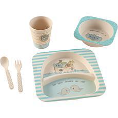Precious Moments 202415 Noah's Ark Toddler Mealtime Set