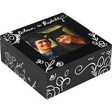 "Precious Moments ""Believe in Possibility"" 4x6 Photo Frame Keepsake Box"