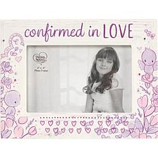 """Precious Moments """"Confirmed in Love"""" 4x6 Photo Frame"""