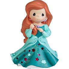 Precious Moments Disney Showcase Ariel Cutout Dress Musical Figurine
