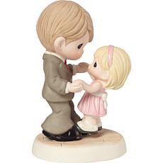 """Precious Moments """"Every Step of the Way"""" Father Daughter Figurine"""
