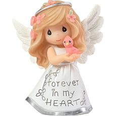"""Precious Moments """"Forever in My Heart"""" Angel Figurine"""