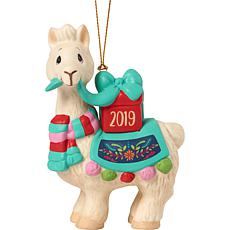 "Precious Moments ""I Llove You Llots"" 2019 Llama Christmas Ornament"