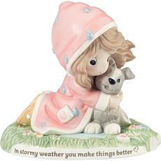 Precious Moments In Stormy Weather You Make Things Better Figurine