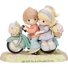 """Precious Moments """"Life With You Is a Beautiful Journey"""" Figurine"""