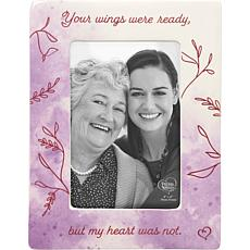 Precious Moments Your Wings Were Ready Memorial Photo Frame