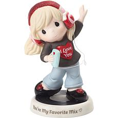 Precious Moments You're My Favorite Mix Bisque Porcelain Figurine