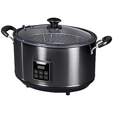 Presto Indoor Electric Smoker and Slow Cooker