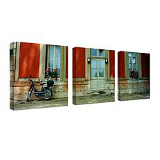 "Preston ""Scooter in Versailles"" Giclée-Print Set"