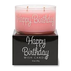 "Primal Elements ""Happy Birthday"" 9.5-oz. Wish Candle"