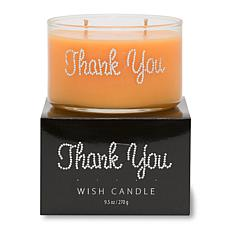 """Primal Elements """"Thank You"""" 9.5-oz. Wish Candle"""