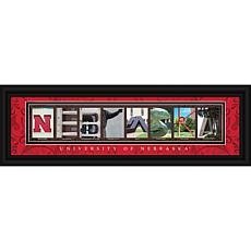Prints Charming Campus Letter Art Framed Print