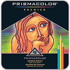 Prismacolor Colored Pencil Set 48-piece Tin