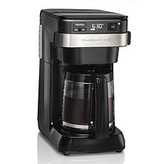 Programmable Easy Access Coffee Maker
