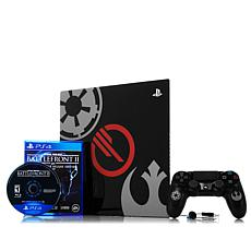 "PS4 Pro 1TB ""Star Wars: Battlefront 2"" Console with Game and Dock"