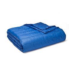 PUFF Indoor/Outdoor Quilted Nylon Water Resistant Blanket, Twin
