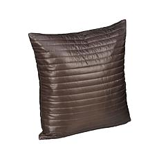 PUFF Indoor/Outdoor Water Resistant Quilted Nylon Decorative Pillow