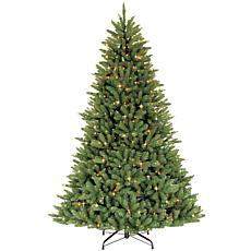 Puleo 10' Franklin Fir Artificial Christmas Tree w/1300 Clear Lights