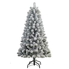 Puleo International 4.5' Artificial Pine Christmas Tree w/ Stand Green
