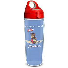 Puppie Love Rescue Dog 24 oz Water Bottle with lid