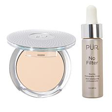 PUR 4-in-1 Mineral Foundation with No Filter Primer - Light