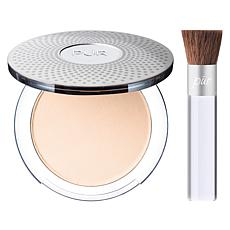PUR Porcelain 4-in-1 Pressed Mineral Foundation with Chisel Brush
