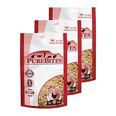 PureBites  Freeze-Dried Cat Treats with Chicken Breast 1.09 oz pack...