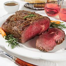 Pureland Meat Co. 4-4.5 lb. Black Angus Boneless Prime Rib Roast
