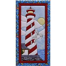 Quilt Magic No-Sew Wall Hanging Kit - Lighthouse