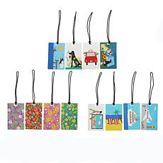 R. Nichols Luggage Tags Variety 12-pack