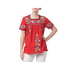 Raj Erina Embroidered Blouse