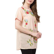 Raj Salena Embroidered Blouse