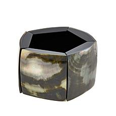 Rara Avis by Iris Apfel Abalone and Resin Bracelet
