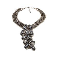 Rara Avis by Iris Apfel Marquise Stone Drop Necklace