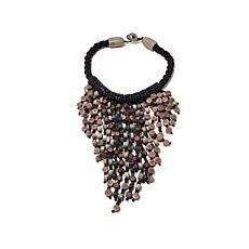 Rara Avis by Iris Apfel Recycled Paper Fringe Necklace