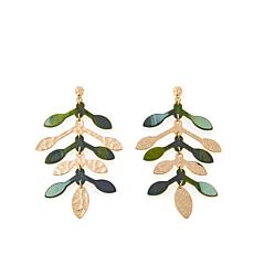 Rara Avis by Iris Apfel Tree-Design Dangle Earrings
