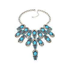 Rara Avis by Iris Apfel Turquoise-Color Stone Necklace
