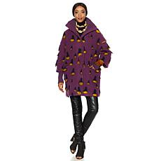 Rara Avis by Iris Apfel Turtleneck Coat
