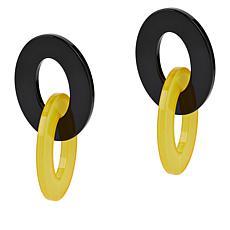 Rara Avis by Iris Apfel Two-Tone Link Earrings