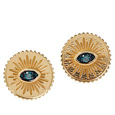 Rarities Colored Diamond Talisman Stud Earrings