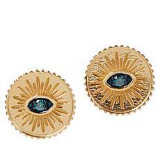 Rarities Colored Diamond Talisman Stud Earrings