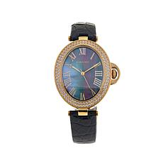 Rarities Mother-of-Pearl Dial Leather Strap Watch