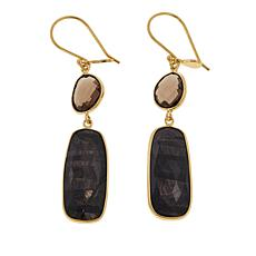 Rarities Smoky Quartz and Gem Drop Earrings