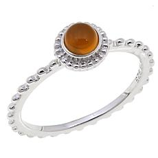 "Rasa Living ""Chakra"" Round Gemstone Ring"