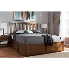 Raurey King Size Storage Platform Bed
