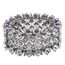 Real Collectibles by Adrienne® Crystal Stretch Bracelet